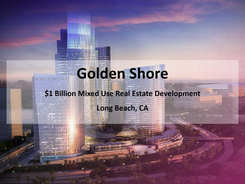 The Golden Shore Project Long Beach Ca